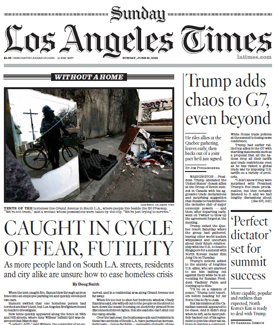Los Angeles Times – 10.06.2018