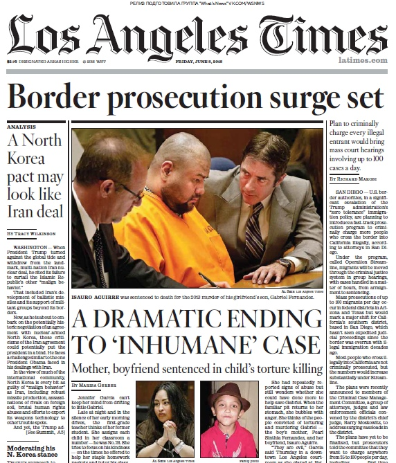 Los Angeles Times – 08.06.2018
