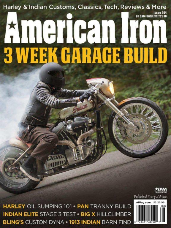 American Iron Magazine – July 2018