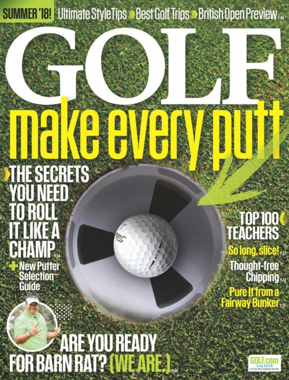 Golf Magazine USA – July 2018