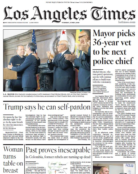 Los Angeles Times – 05.06.2018