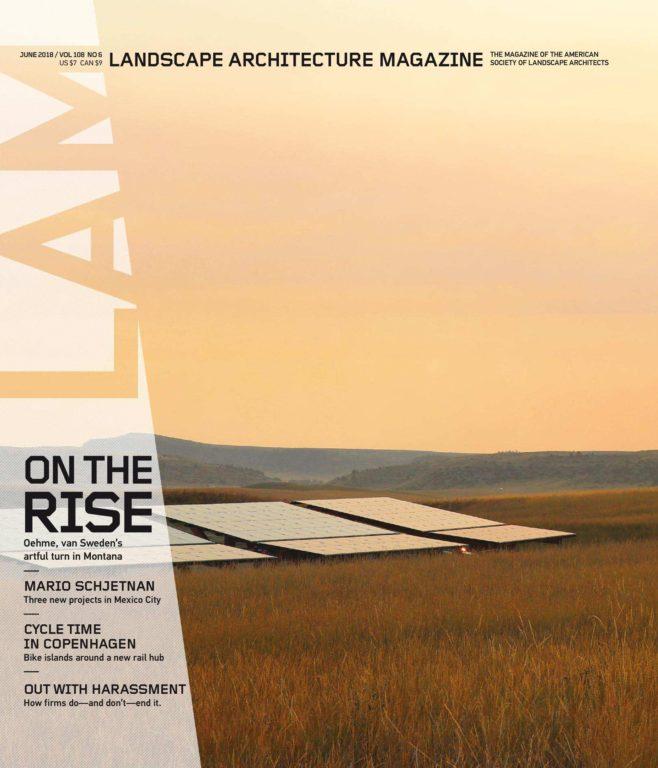 Landscape Architecture Magazine USA – June 2018