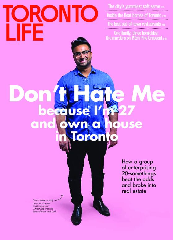 Toronto Life – July 2018