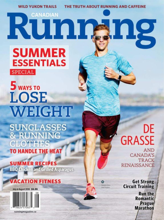 Canadian Running – July-August 2018