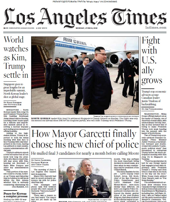 Los Angeles Times – 11.06.2018