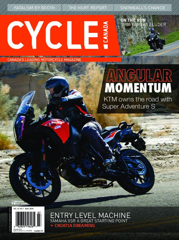 Cycle Canada – July 2018