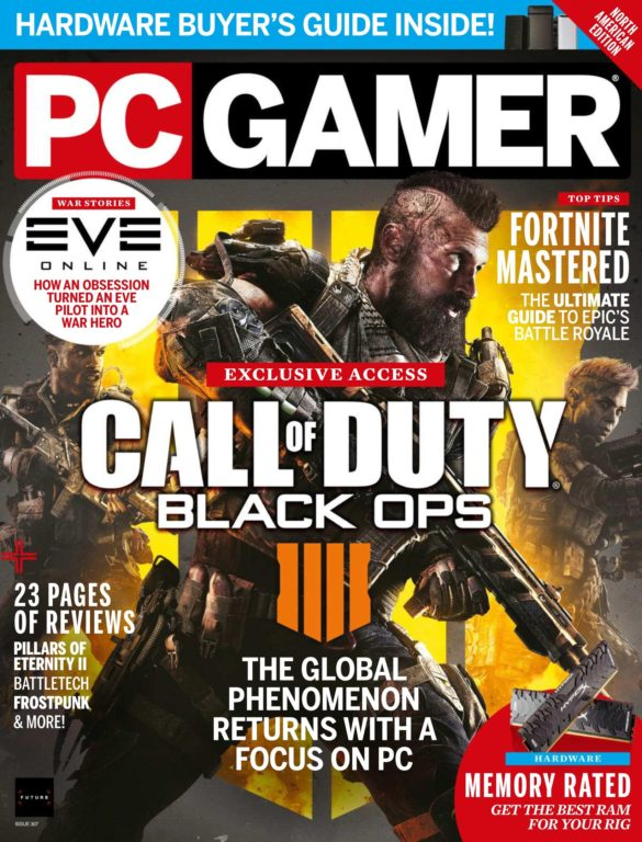 PC Gamer USA – August 2018