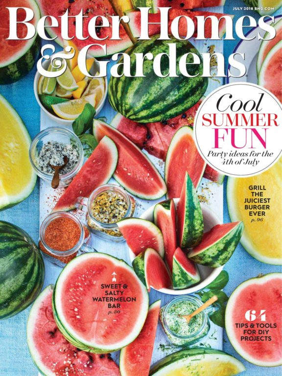 Better Homes & Gardens USA – July 2018