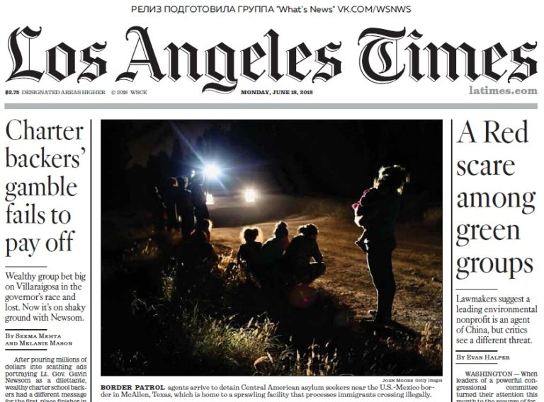 Los Angeles Times – 18.06.2018