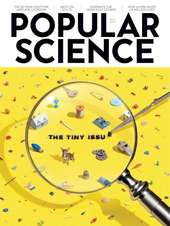 Popular Science USA – August-September 2018