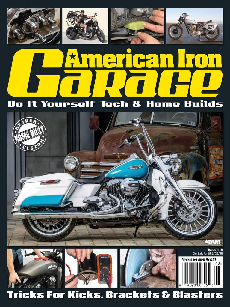 American Iron Garage – August-September 2018
