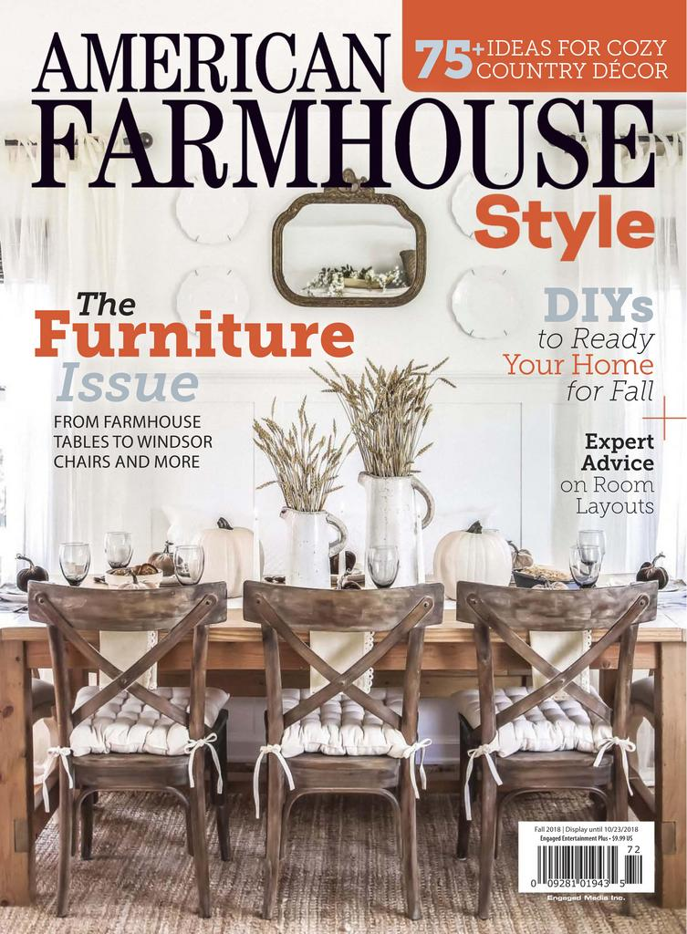 American Farmhouse Style – September 2018