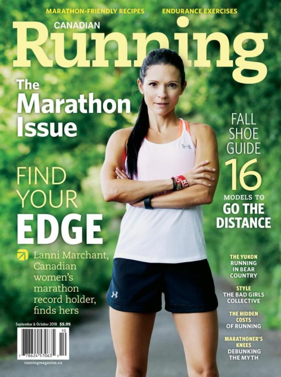 Canadian Running – September-October 2018