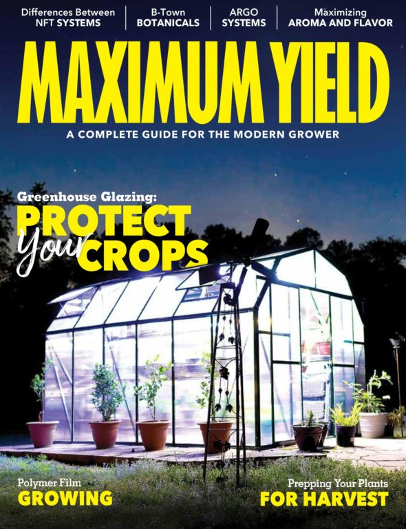 Maximum Yield Modern Growing USA – August 2018