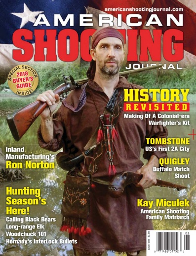 American Shooting Journal – August 2018