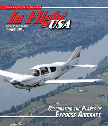 In Flight USA – August 2018