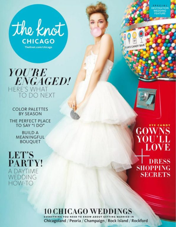 The Knot Chicago Weddings Magazine – July 2018