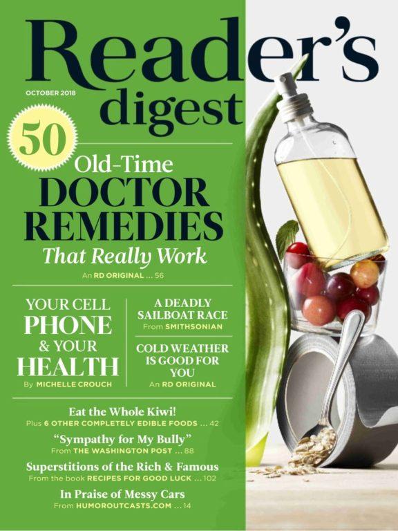 Reader's Digest USA – October 2018