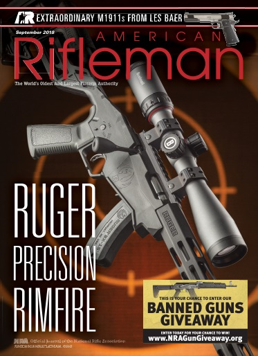 American Rifleman – September 2018