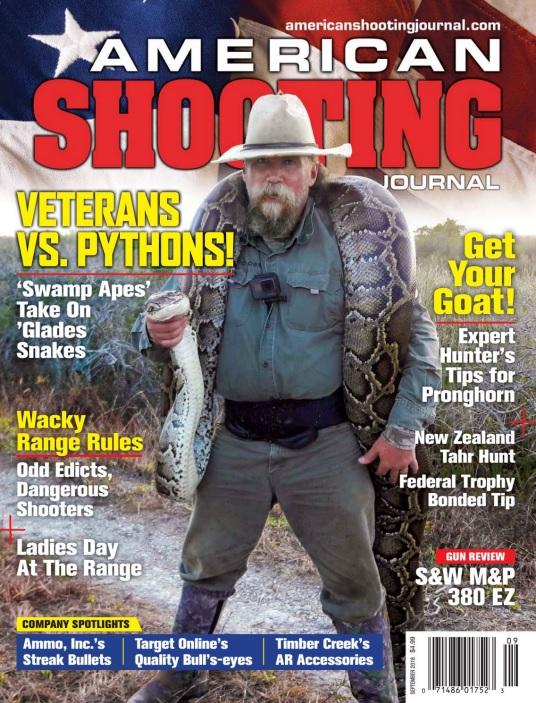 American Shooting Journal – September 2018