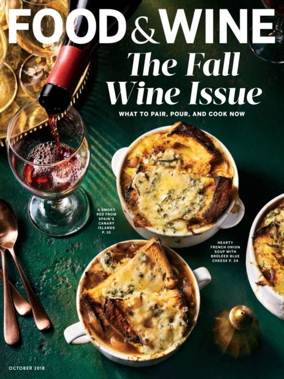 Food & Wine USA – October 2018