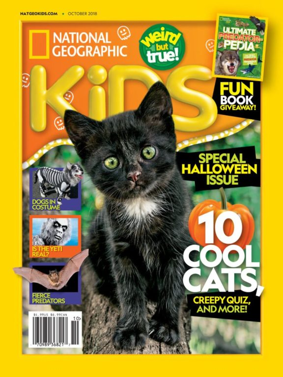 National Geographic Kids USA – October 2018