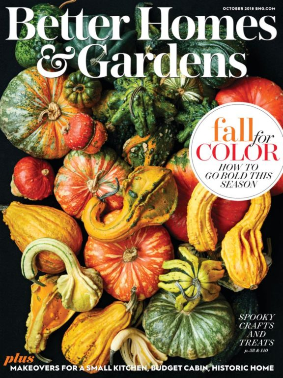Better Homes & Gardens USA – October 2018