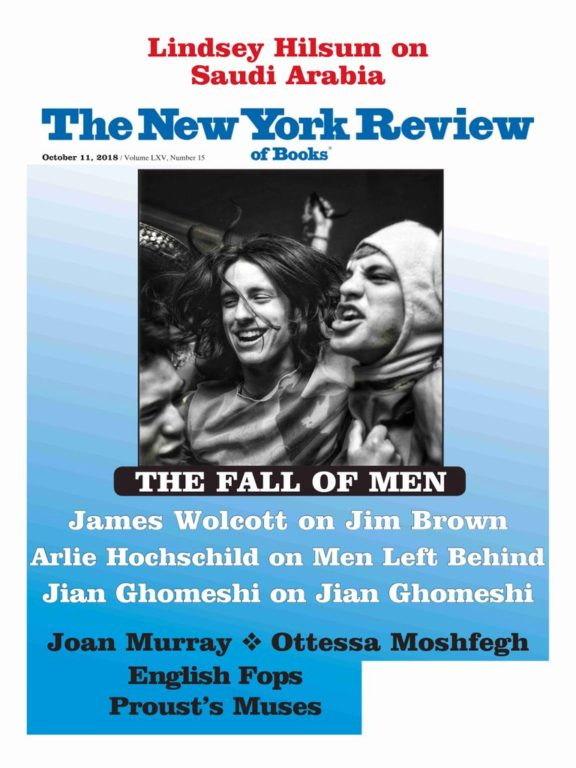 The New York Review Of Books – October 11, 2018