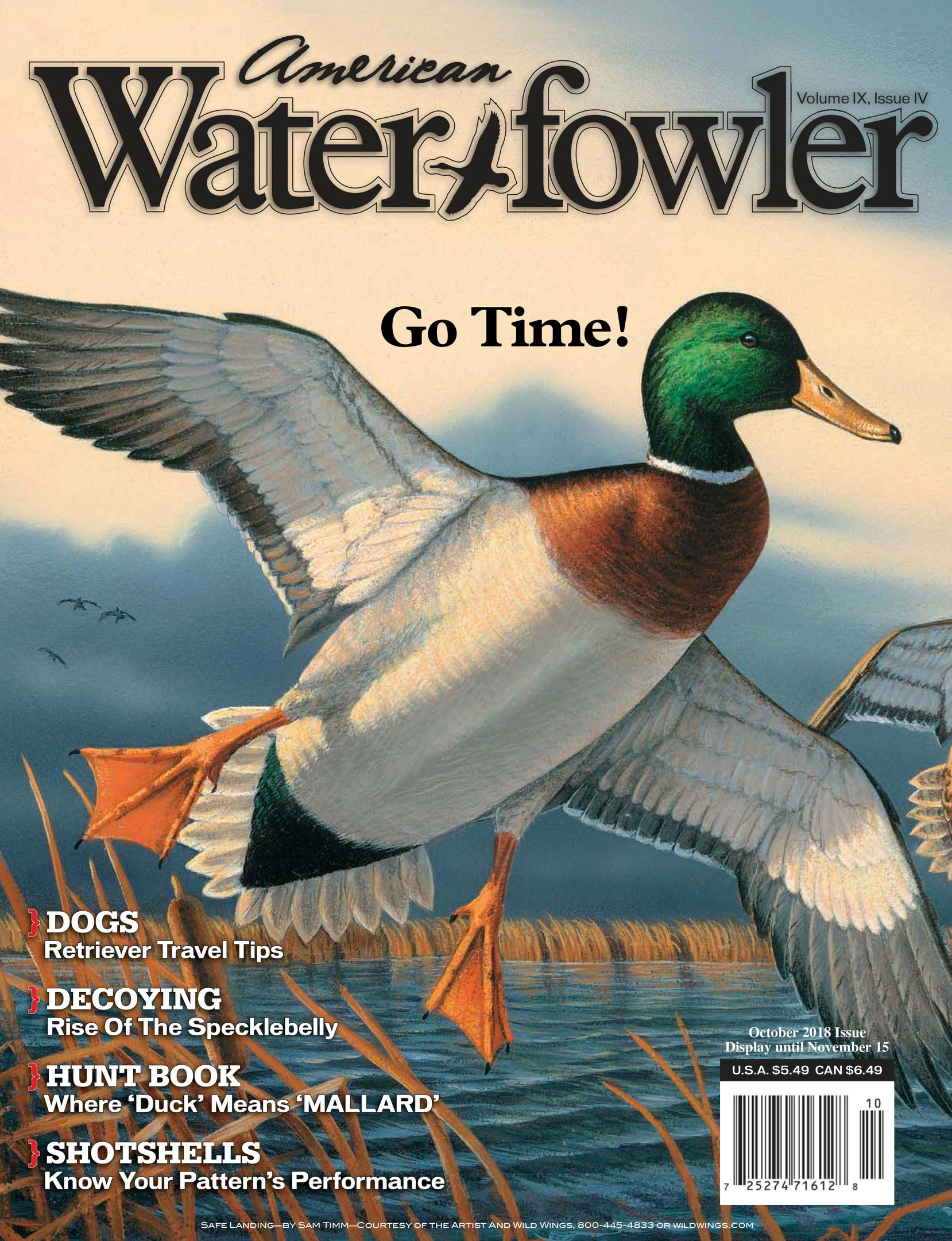 American Waterfowler – October 2018