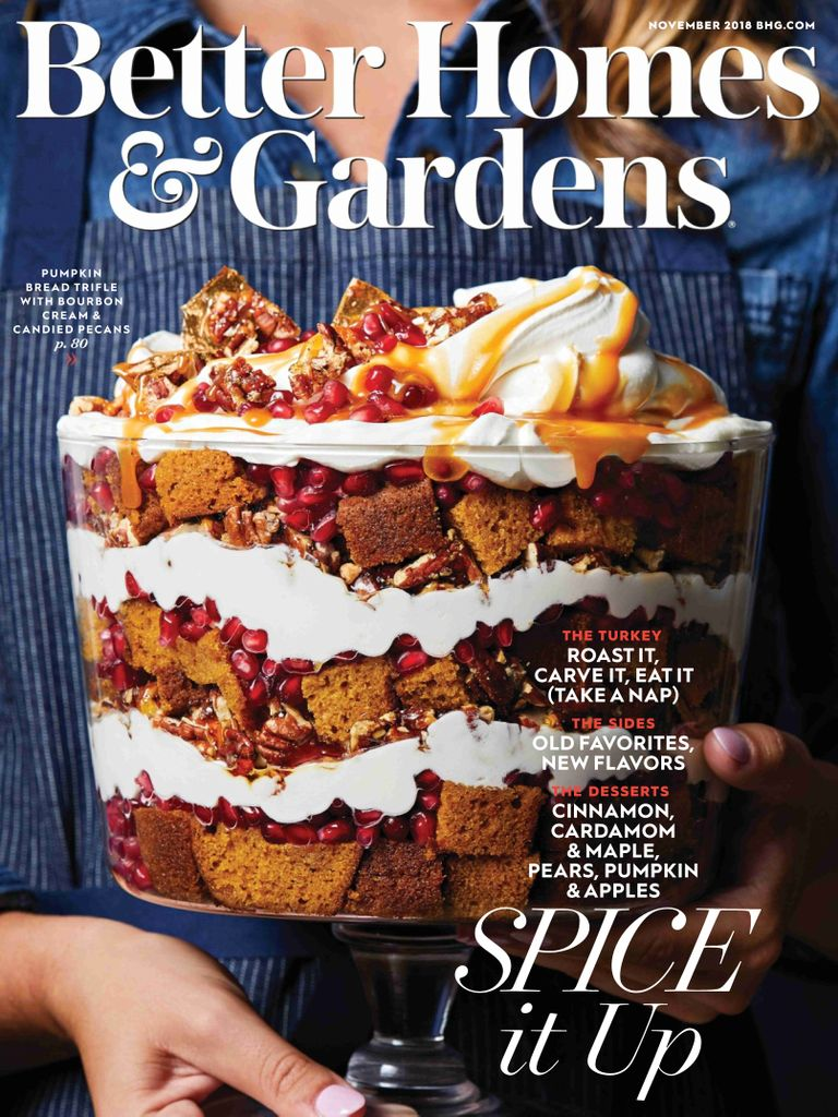 Better Homes & Gardens USA – November 2018
