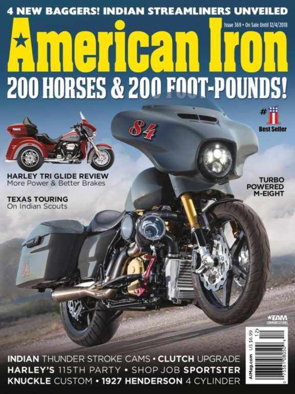 American Iron Magazine – October 2018