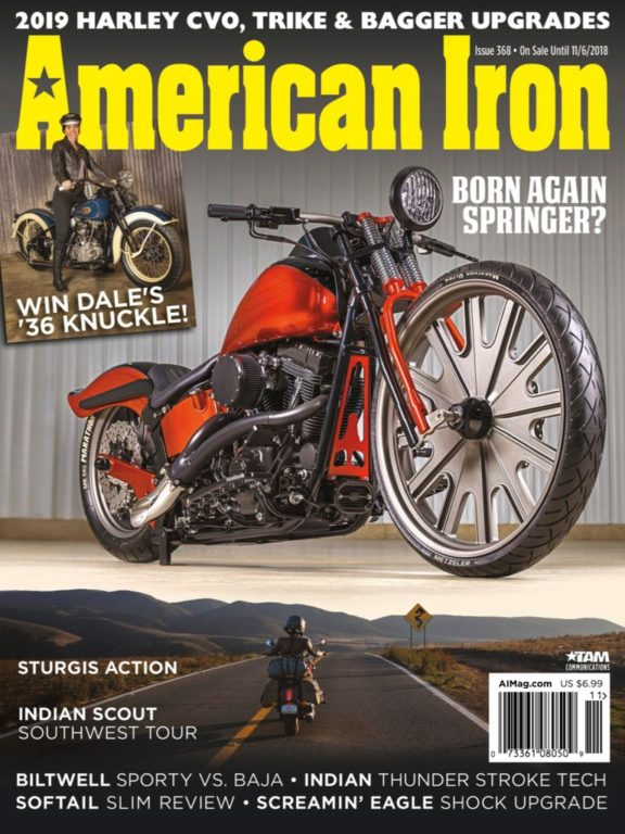 American Iron Magazine – September 2018