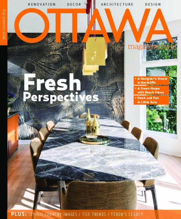 Ottawa Magazine – October 2018