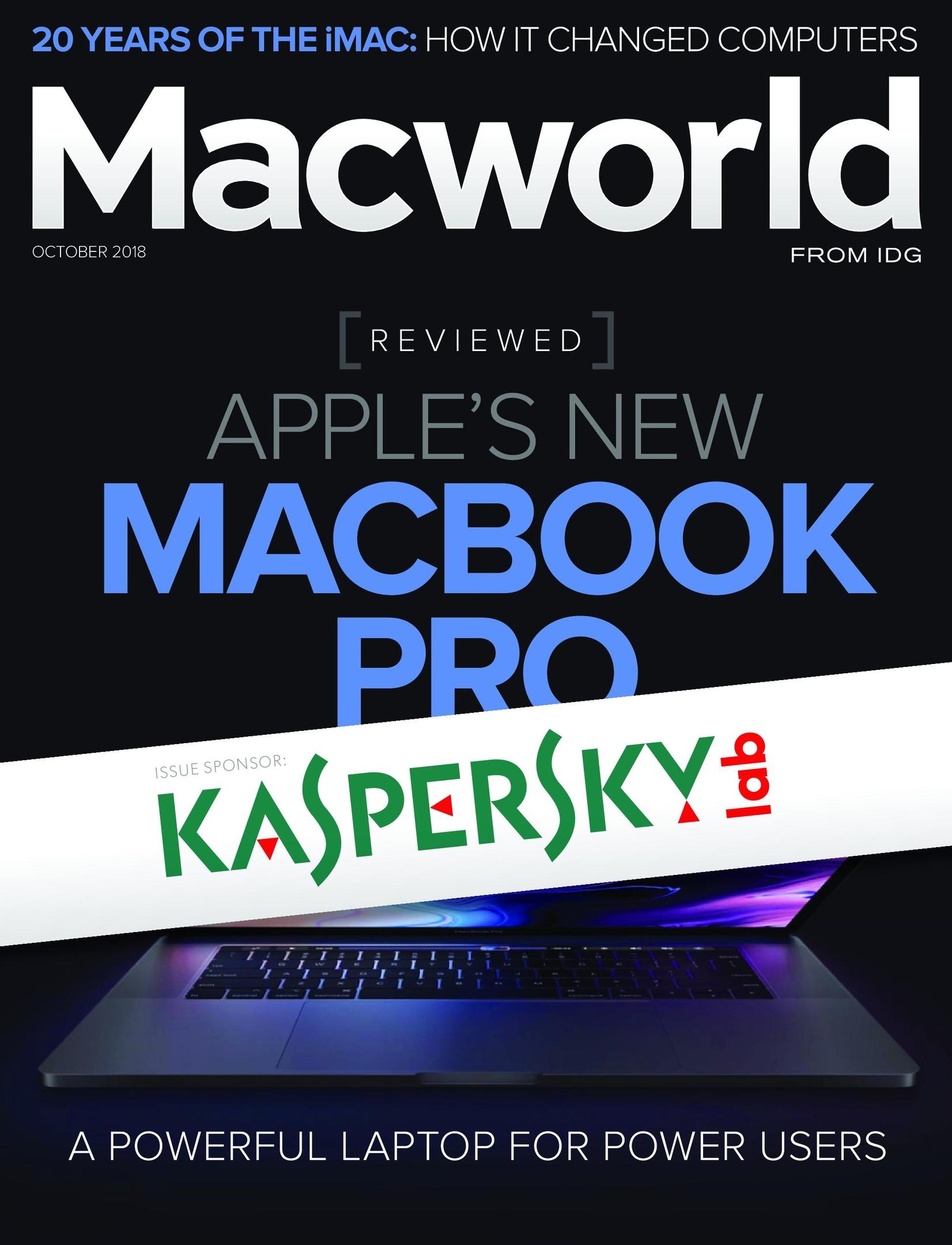 Macworld USA – October 2018