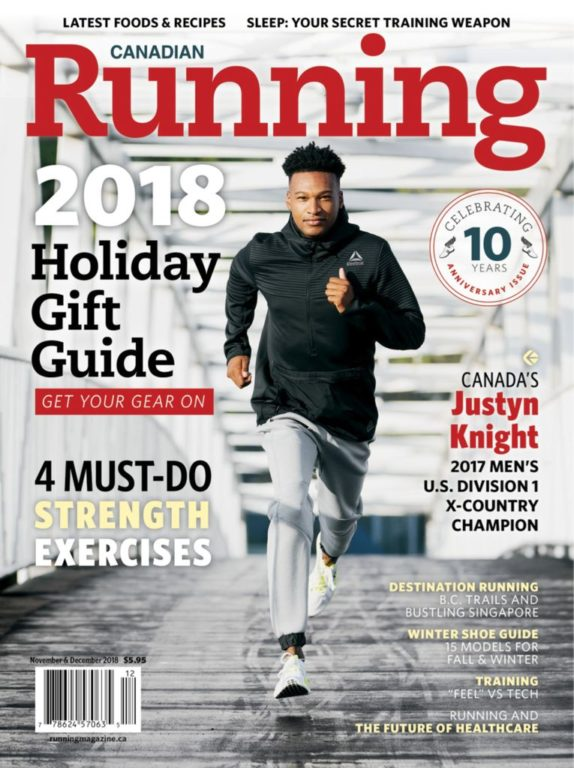 Canadian Running – November-December 2018