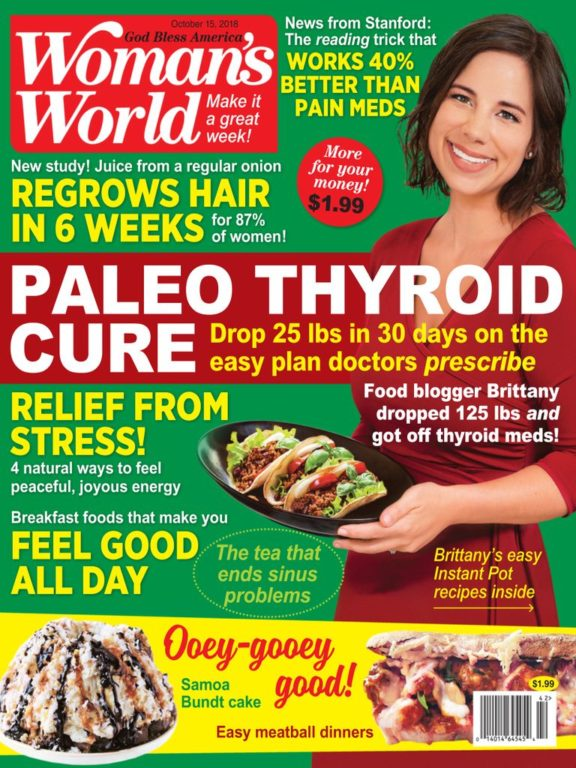 Woman's World USA – October 15, 2018