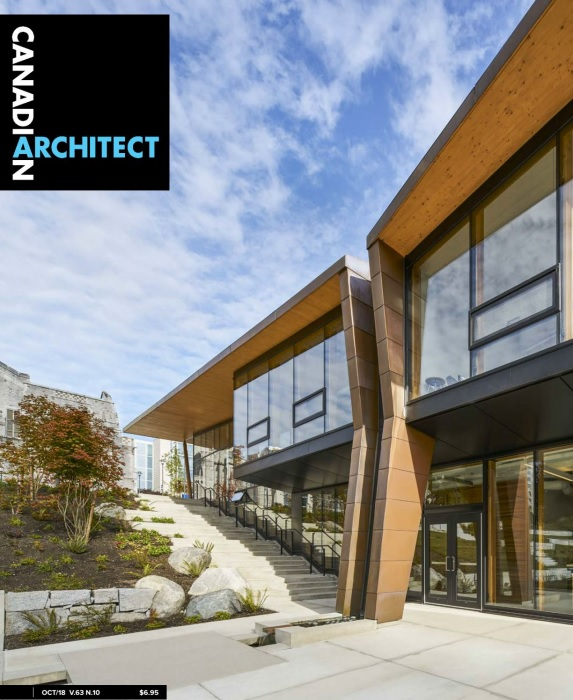Canadian Architect – October 2018