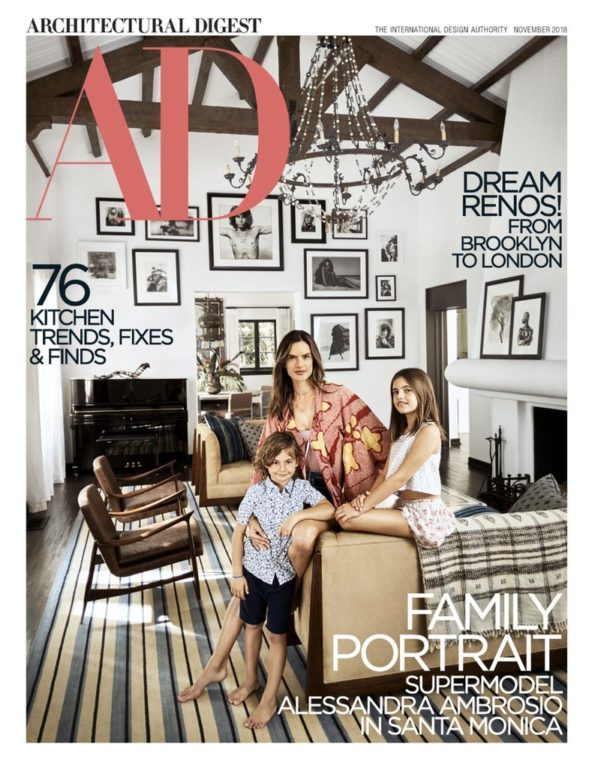 Architectural Digest USA – November 2018