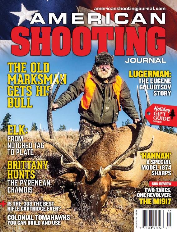 American Shooting Journal – October 2018