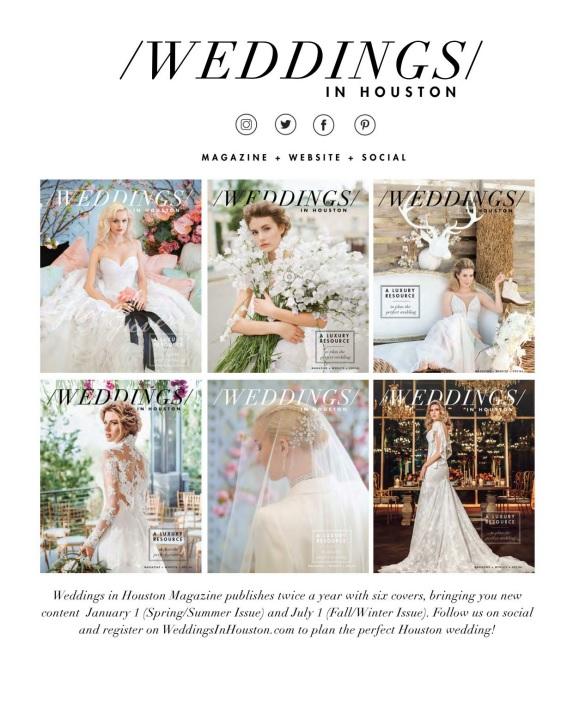 Weddings In Houston – Fall-Winter 2018