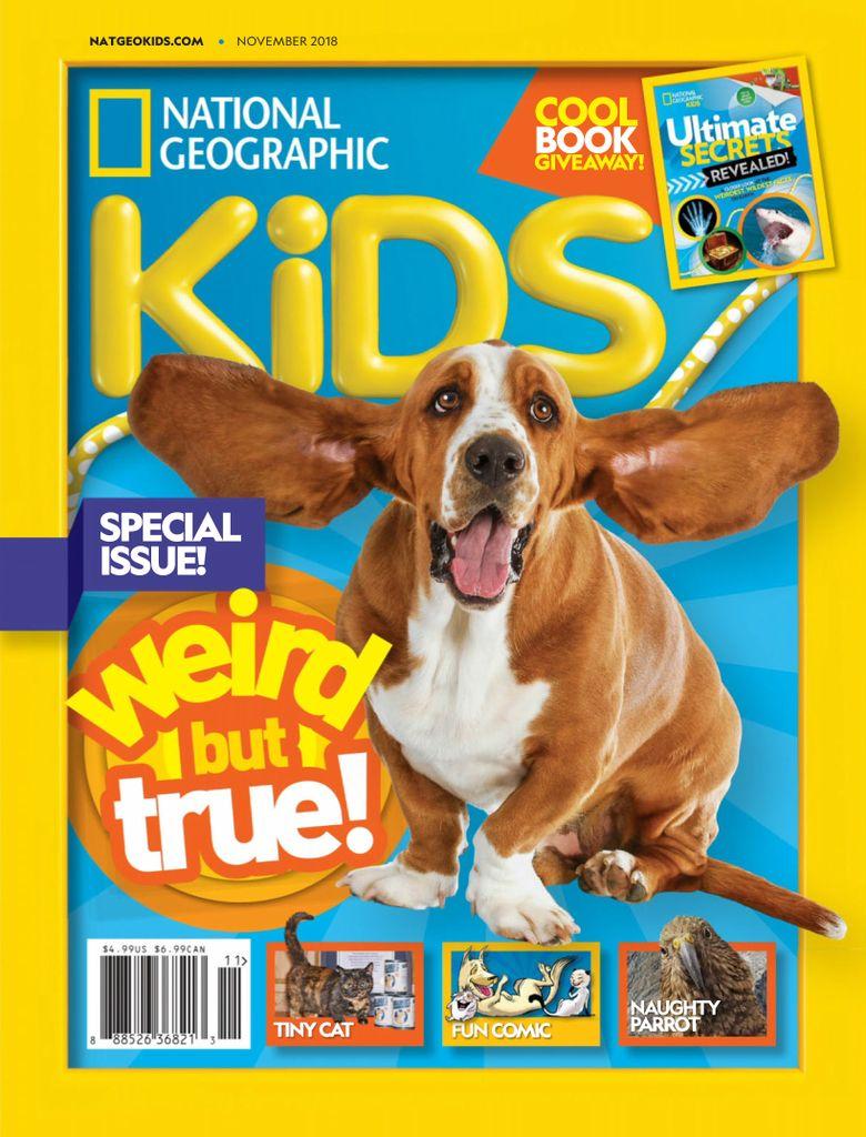 National Geographic Kids USA – November 2018