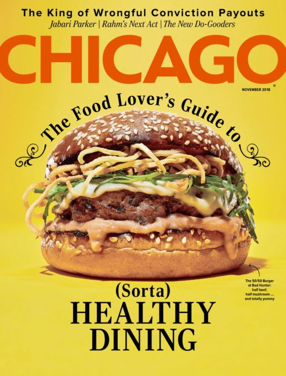 Chicago Magazine – November 2018