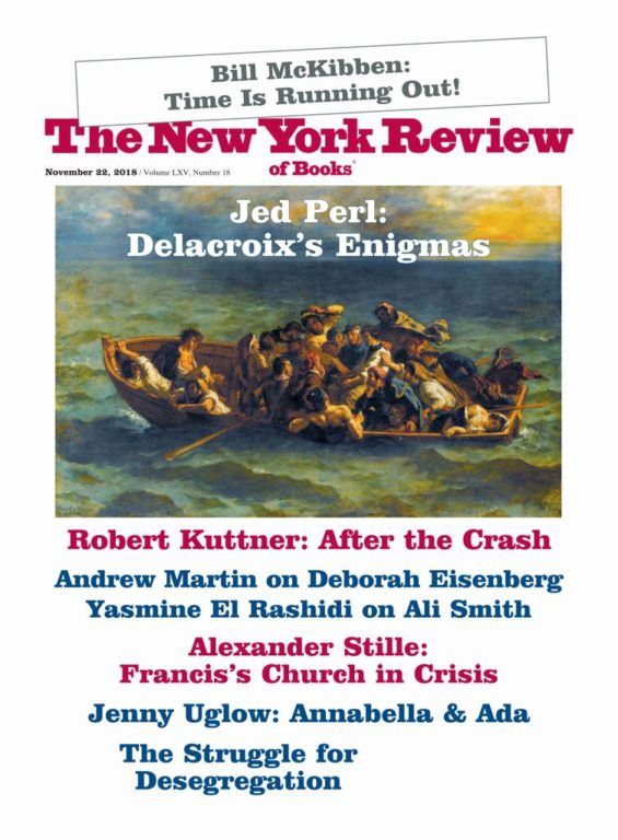 The New York Review Of Books – November 22, 2018