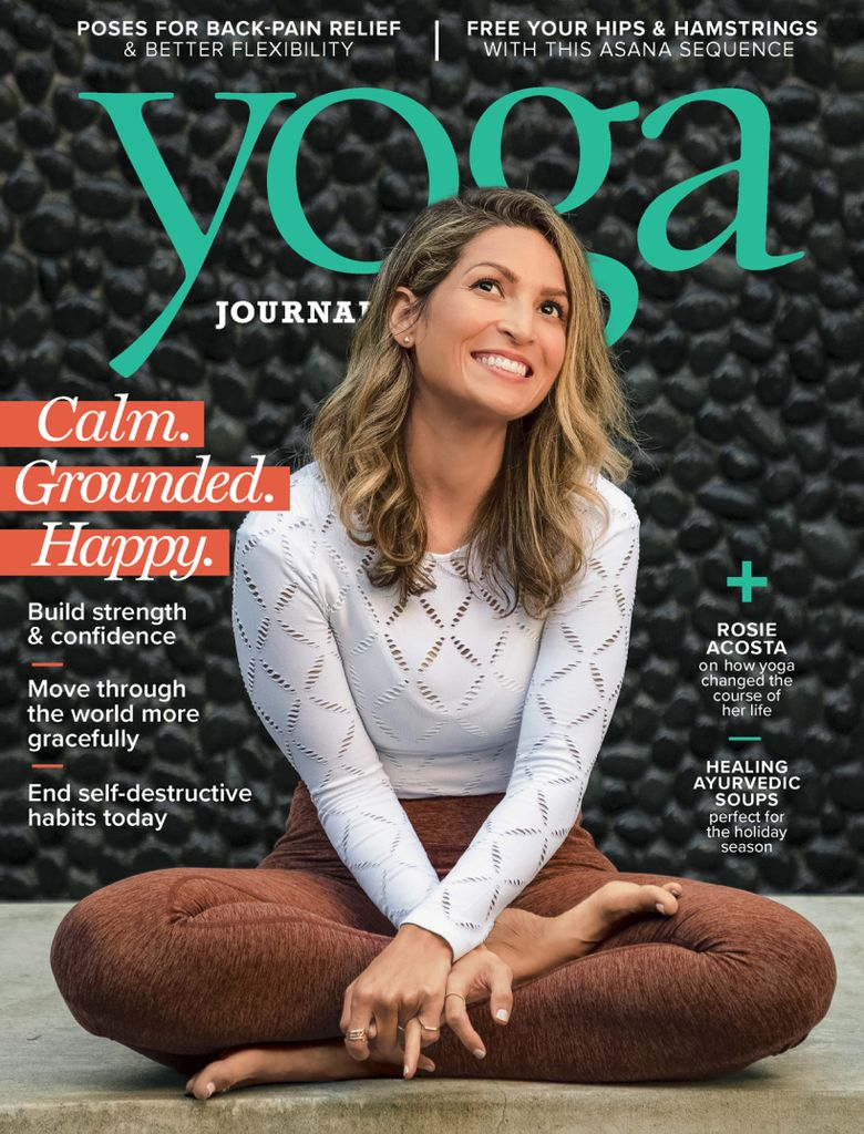 Yoga Journal USA – December 2018