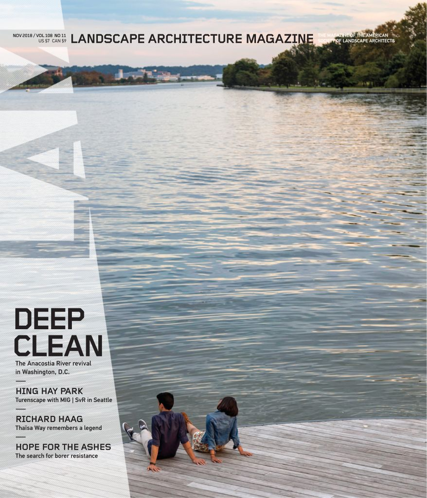 Landscape Architecture Magazine USA – November 2018