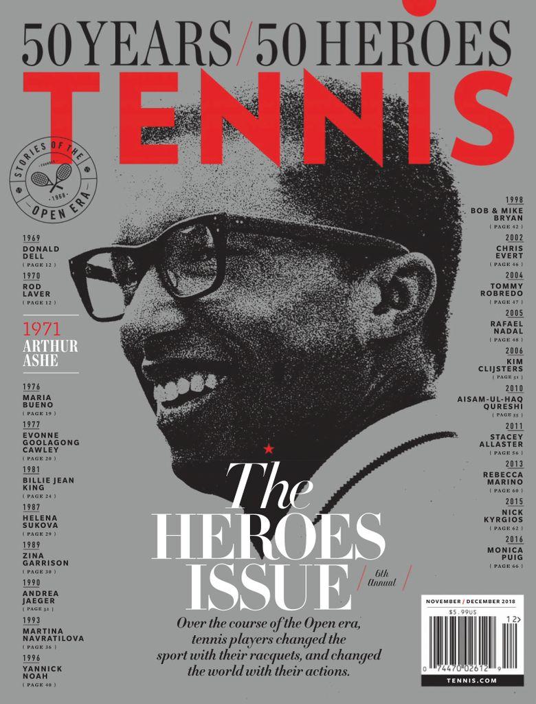 Tennis Magazine USA – November-December 2018