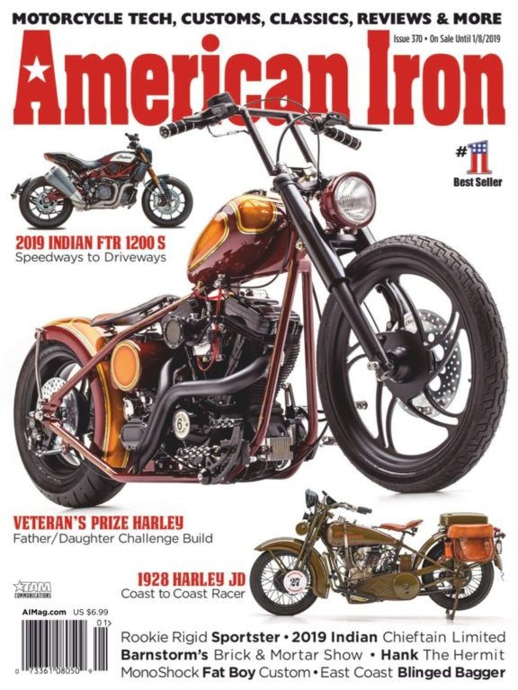 American Iron Garage – October-November 2018