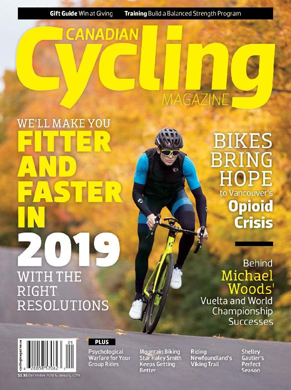 Canadian Cycling – December-January 2018