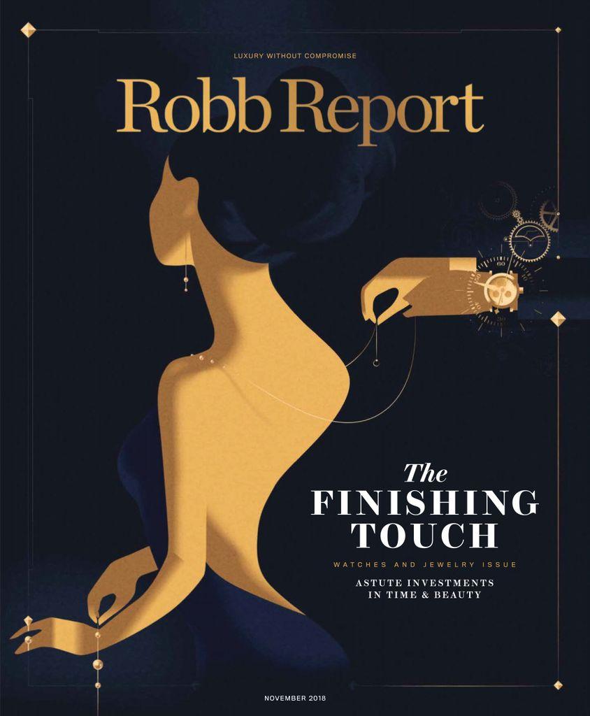 Robb Report USA – November 2018