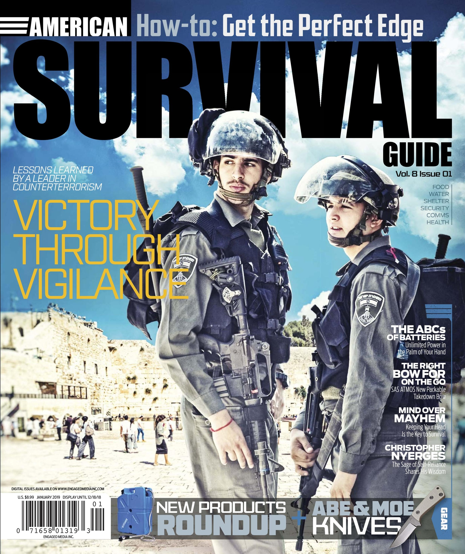 American Survival Guide – January 2019